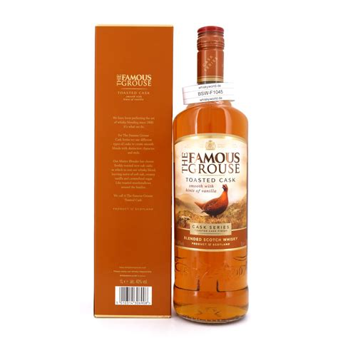 Famous Grouse Toasted Cask Literflasche 40