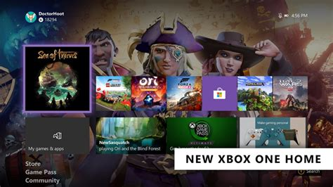 February 2020 Xbox One Update Introduces New Home