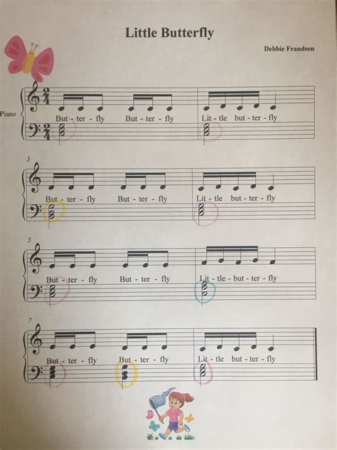 Little Butterfly in 2020   Piano music, Lets play music