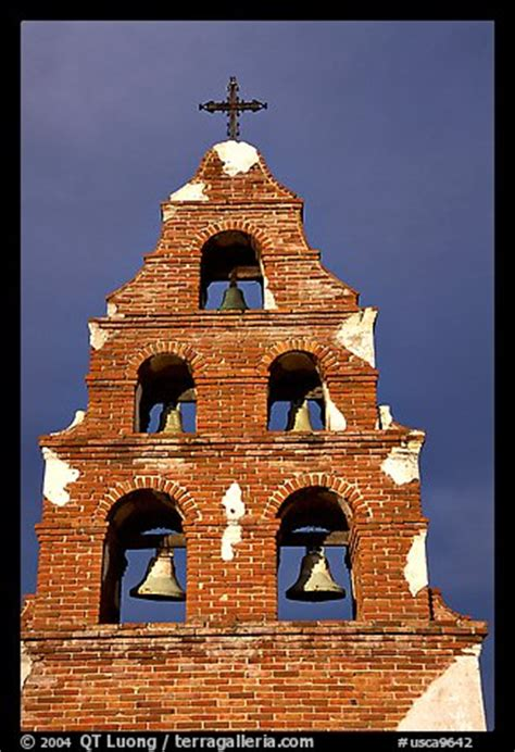 Picture/Photo: Bell tower, Mission San Miguel Arcangel
