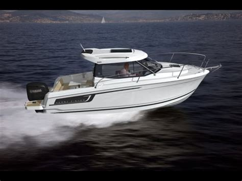 MERRY FISHER 695 by JEANNEAU: Guided Tour Video (English