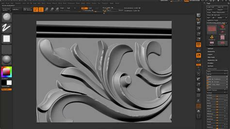 Creating a Realtime Carved Wood Texture with Maya and