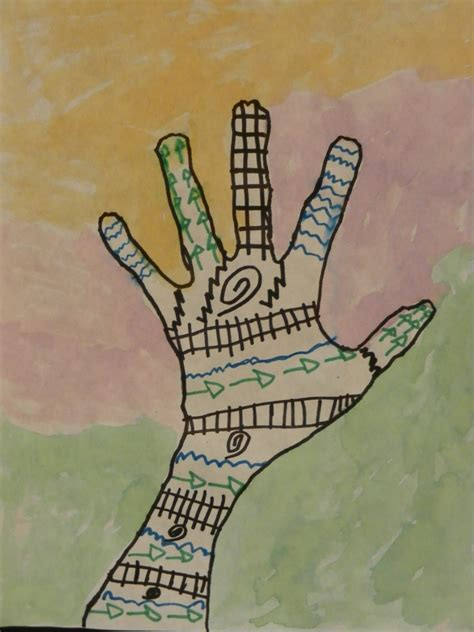 The smARTteacher Resource: Henna Hand (linked to the book