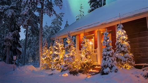 Christmas Chalets by Luxury Action in Rovaniemi, Lapland