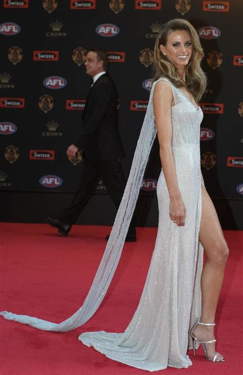 Brownlow Medal: WAGS step up their fashion game at AFL's