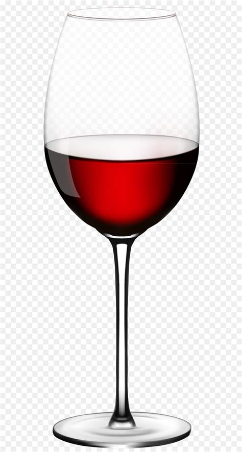 Red Wine Champagne Wine glass - Wine Glass PNG Vector