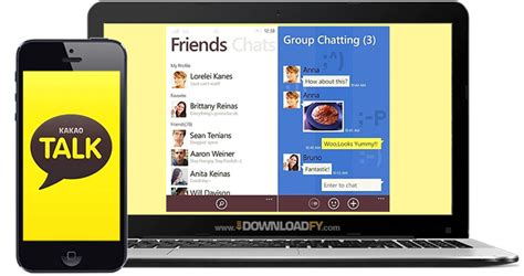 Download Kakao Talk For Android, IPhone, Windows PC And