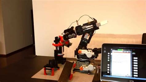 OrangeApps 6 Axis Lego Robot controlled by Lego EV3 and