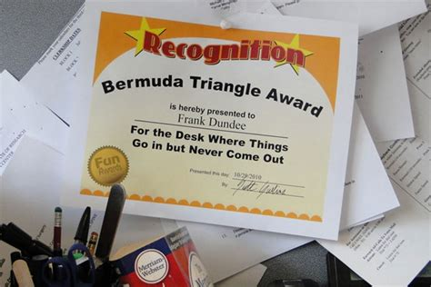 Funny Awards – Ideas for a New Twist on Classic Office