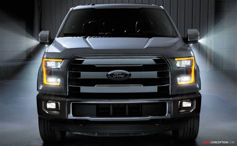 Ford Unveils All-New F-150 Pickup Truck - AutoConception