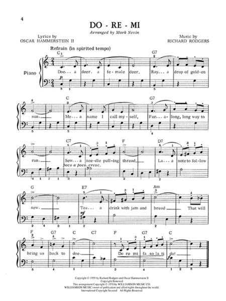 The Sound of Music - Easy Piano #soundofmusic in 2020